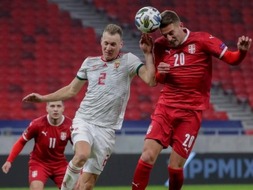 Labdarúgás: Három szerb válogatott játékos is megfertőződött - A cikkhez tartozó kép