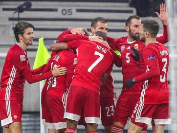 Labdarúgás NL: Magyarország és Szerbia is győzelemmel zárt - A cikkhez tartozó kép