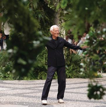 Háromszáz fát adományoz Milánónak Giorgio Armani - A cikkhez tartozó kép