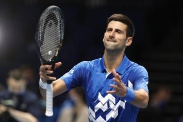 Tenisz: Đoković bejutott a londoni ATP-vb elődöntőjébe - A cikkhez tartozó kép