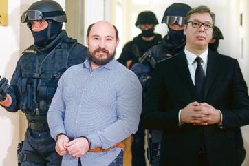 Két bűnbanda is pénzt kínált Dér Csabának, hogy ölje meg a szerb elnököt? - A cikkhez tartozó kép