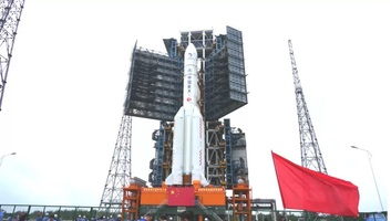 Kína szondát küld a Holdra - illusztráció