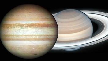 Decemberben ritka közel lesz egymáshoz a Jupiter és a Szaturnusz - illusztráció