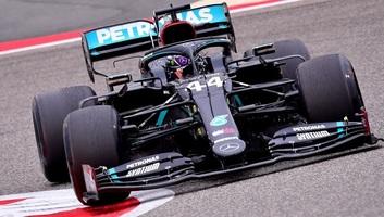 F1: Hamilton nyerte az időmérőt Bahreinben - illusztráció