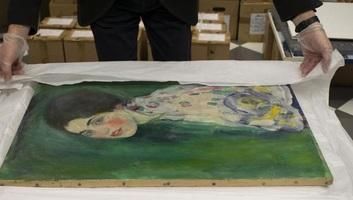 Titokzatos módon megkerült Klimt-képet mutattak be - illusztráció