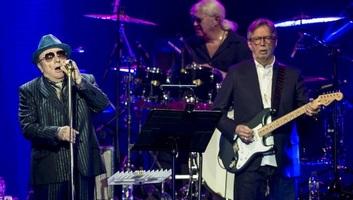 Eric Clapton és Van Morrison közös dala az élő zenéért - illusztráció