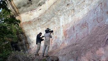 A világ egyik legnagyobb barlangrajz-gyűjteményét találták meg az amazóniai esőerdőben - illusztráció