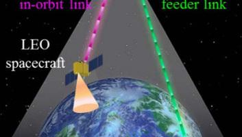 Japán optikai adatátjátszó műholdat állított pályára - illusztráció