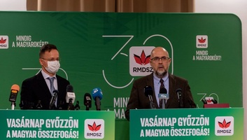 Szijjártó: Jót tenne a magyar-román viszonynak, ha az RMDSZ erősebb lenne a román parlamentben - illusztráció