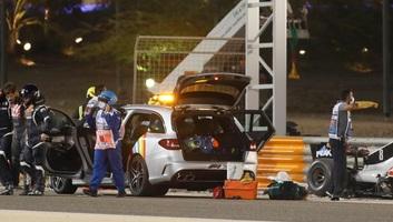 F1: Az FIA vizsgálatot indított Grosjean balesete miatt - illusztráció
