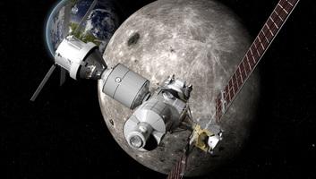 Egy dollárért hozat kőzetmintát a Holdról a NASA - illusztráció