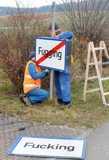 Megkönnyebbültek: a falu új neve Fugging - A cikkhez tartozó kép