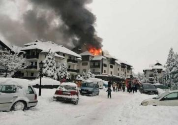 Kigyulladt egy apartmanhotel a Zlatiboron - A cikkhez tartozó kép