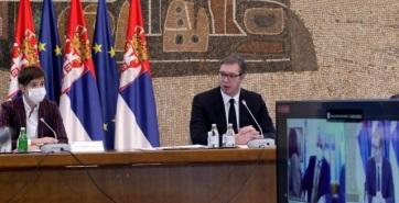 Az államfő és a kormányfő bemutatták a szerbiai vakcináció folyamatát követő korszerű rendszert - A cikkhez tartozó kép
