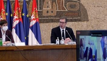 Az államfő és a kormányfő bemutatták a szerbiai vakcináció folyamatát követő korszerű rendszert - illusztráció