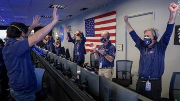 Sikeresen landolt a Perseverance a Marson - A cikkhez tartozó kép