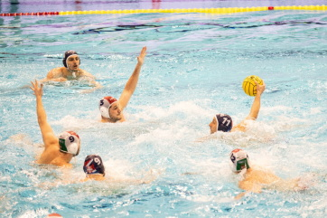 Vízilabda: A szerb csapat legyőzte a magyar válogatottat a szegedi uszodaavatón - A cikkhez tartozó kép