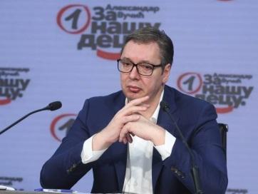 Vučić a párt elnökségi ülése után: Kádercsere várható az SNS-ben, van aki felelőtlenül viselkedett - A cikkhez tartozó kép