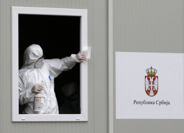 Több mint 3.500 új fertőzött Szerbiában - A cikkhez tartozó kép