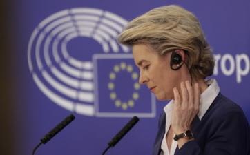 Ursula von der Leyennel, az Európai Bizottság elnökével egyeztetett telefonon Joe Biden - A cikkhez tartozó kép
