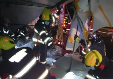 Négy migráns halt meg az Okučaninál történt közlekedési balesetben - A cikkhez tartozó kép