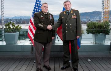 Telefonon tárgyalt egymással az orosz és az amerikai vezérkari főnök - A cikkhez tartozó kép