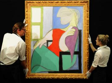 Elárvereznek egy Picasso-portrét, akár 55 millió dollárt is megadhatnak érte - A cikkhez tartozó kép