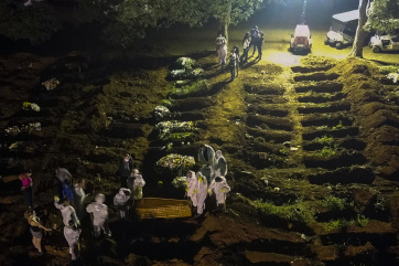 Pandemija: Brazilski mutant korona virusa veoma opasan - A cikkhez tartozó kép