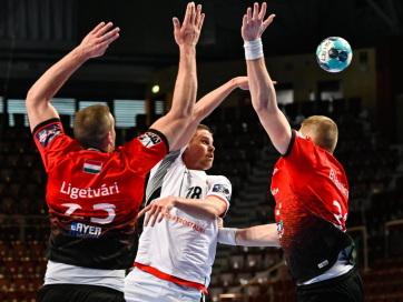 Férfi kézilabda BL: Kettős győzelemmel negyeddöntős a Veszprém - A cikkhez tartozó kép
