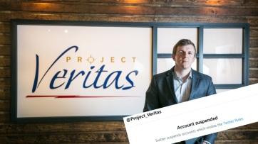 Letiltotta a Twitter a CNN manipulációit is leleplező Project Veritas alapítójának fiókját - A cikkhez tartozó kép