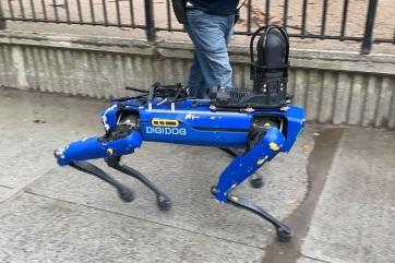 Nem használ többé robotkutyát a New York-i rendőrség - A cikkhez tartozó kép