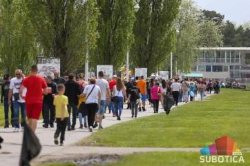 Több ezer ember ünnepelt Palicson - A cikkhez tartozó kép