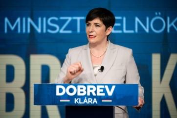 Dobrev Klára a DK miniszterelnök-jelöltje az ellenzéki előválasztáson - A cikkhez tartozó kép