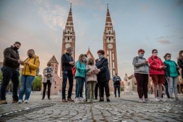 A járvány áldozataira emlékeztek Szegeden - A cikkhez tartozó kép