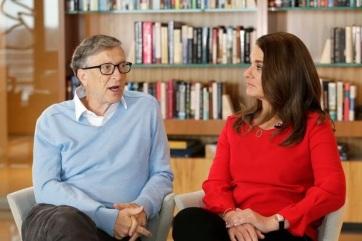 27 év után elválik Bill és Melinda Gates - A cikkhez tartozó kép