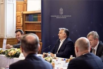 Orbán Viktor: Az új magyar egyetemi rendszer az egész országot húzza előre - A cikkhez tartozó kép
