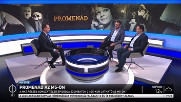 Promenád címmel színháztörténeti titkok nyomába ered az M5 új műsora - illusztráció