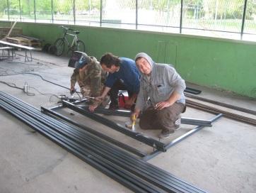 Muzslya: Bekerítik a Lehel Sportközpontot - A cikkhez tartozó kép