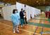 A Medison Sportcsarnokban is zajlik a polgárok immunizálása - előzetes bejelentkezés nélkül is - miniatűr változat