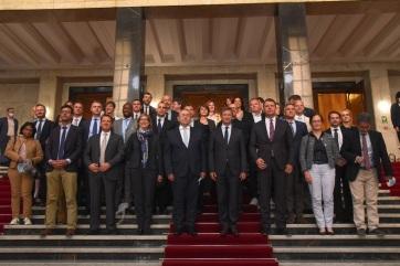 Pásztor és Mirović a francia nemzetvédelmi intézet képviselőit fogadta - A cikkhez tartozó kép
