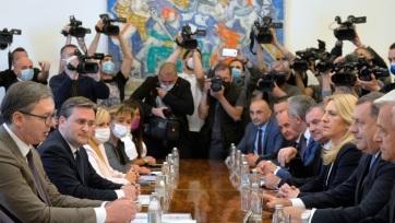 Vučić boszniai szerb vezetőkkel tanácskozott - A cikkhez tartozó kép