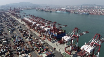 Mérséklődött a kínai export, és gyorsult az import bővülése májusban - A cikkhez tartozó kép