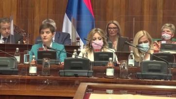 Megszavazta az alkotmánymódosítást a szerb parlament - A cikkhez tartozó kép