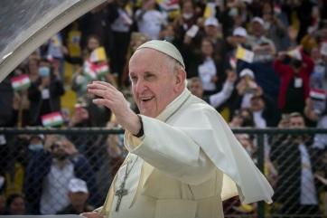 Ferenc pápa a tervek szerint találkozik Orbán Viktorral és Áder Jánossal - A cikkhez tartozó kép
