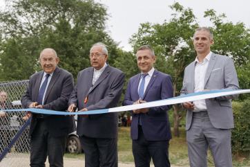 Új sportcsarnok épül Tóthfaluban - A cikkhez tartozó kép