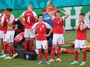 Euro 2020: Eriksen drámája után legyőzték a finnek a dánokat - A cikkhez tartozó kép
