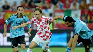 Luka Modrič: Leszögezhetem, hogy nem fogunk térdelni - A cikkhez tartozó kép