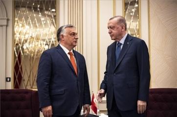 A török államfővel tárgyalt Orbán Viktor - A cikkhez tartozó kép