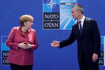 Merkel a NATO-csúcson: Megfelelő egyensúlyt kell találni a Kínához fűződő kapcsolatokban - A cikkhez tartozó kép