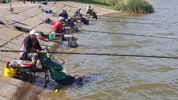 Sporthorgászok versenyeztek a topolyai tavon - illusztráció